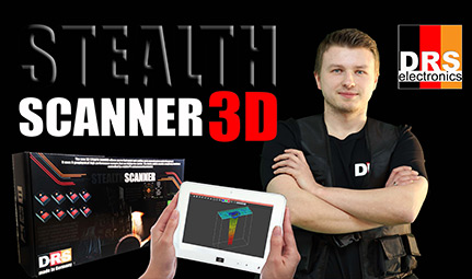 DRS 3D Stealth Ground Scanner Pro is the ultimate in Camouflage treasure hunting.