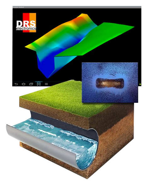 DRS 3D Stealth Ground Scanner Pro | Detect and Image Buried Objects