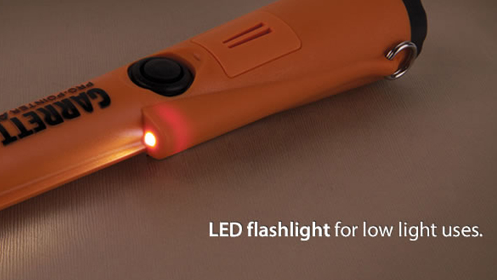 Built-In LED Flashlight