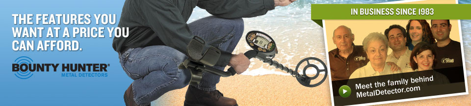 Bounty Hunter Metal Detector - The features you want at a price you can afford.