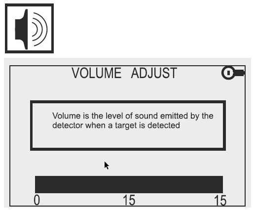 Detech Chaser Volume Display