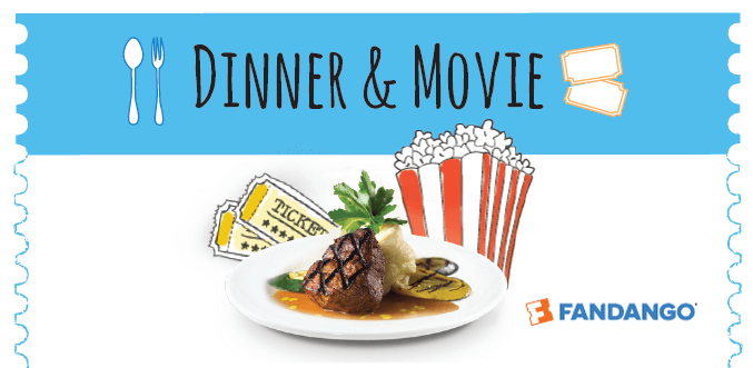 Dinner and Movie Card Offer